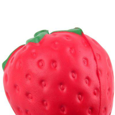 Jumbo Squishy Squeeze PU Strawberry Packaging Collection Gift Soft Toy simulation banana apple strawberry shape squishy toys