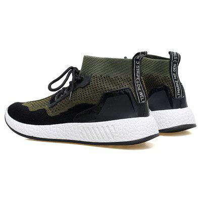 2018 Summer New Arrival High Vamp Sports ShoesMen's Sneakers<br>2018 Summer New Arrival High Vamp Sports Shoes<br><br>Available Size: 39-44<br>Closure Type: Lace-Up<br>Feature: Breathable<br>Gender: For Men<br>Insole Material: PU<br>Lining Material: Cotton Fabric<br>Outsole Material: Rubber<br>Package Contents: 1 x Shoes (pair)<br>Package Size(L x W x H): 30.00 x 20.00 x 10.00 cm / 11.81 x 7.87 x 3.94 inches<br>Package weight: 0.8000 kg<br>Pattern Type: Others<br>Season: Summer<br>Shoe Width: Medium(B/M)<br>Upper Material: Synthetic