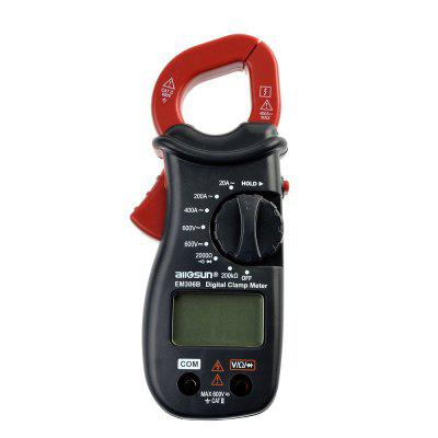 Portable Digital Clamp Multimeter AC DC Volt Amp OHM LCD Audible Diode Tester мультиметр fuke dt9205a ac dc lcd dt9205a