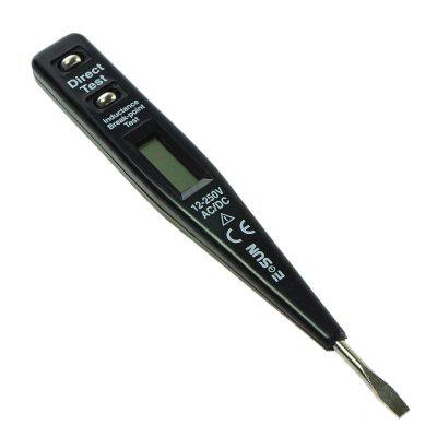 Digital Voltage Tester 12-250V Inductance Break Point Tester Electrical