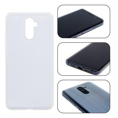 Silicone Case TPU Transparent Shell Materials for Elephone UCases &amp; Leather<br>Silicone Case TPU Transparent Shell Materials for Elephone U<br><br>Compatible Model: Elephone U<br>Material: TPU<br>Package Contents: 1 x Case<br>Package size (L x W x H): 15.00 x 10.00 x 2.00 cm / 5.91 x 3.94 x 0.79 inches<br>Package weight: 0.0150 kg<br>Product Size(L x W x H): 14.00 x 8.00 x 1.00 cm / 5.51 x 3.15 x 0.39 inches<br>Product weight: 0.0140 kg<br>Style: Transparent