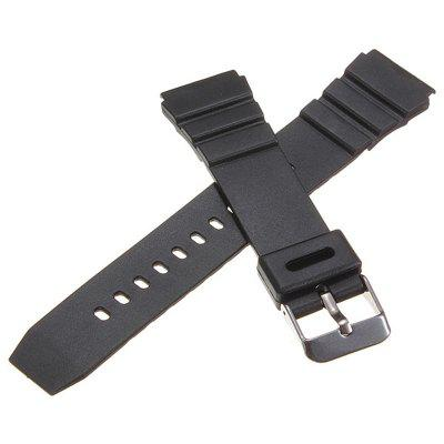 CAS01CB for Casio Watch Band Replacement Silicone Strap 18mm 20mm 22mm WidthSmart Watch Accessories<br>CAS01CB for Casio Watch Band Replacement Silicone Strap 18mm 20mm 22mm Width<br><br>Material: Silicon<br>Package Contents: 1 x Watch Band<br>Package size: 15.00 x 6.00 x 0.50 cm / 5.91 x 2.36 x 0.2 inches<br>Package weight: 0.0150 kg