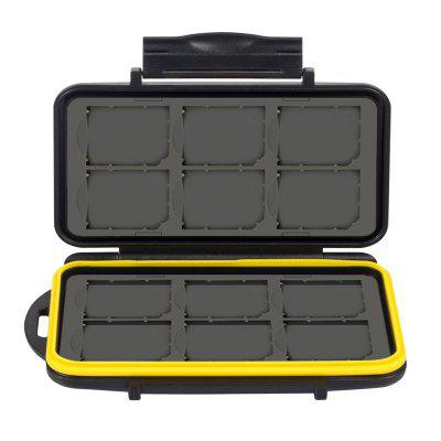 New Shockproof Protective Memory Card Box With 24 Card Slots for SD TF Card