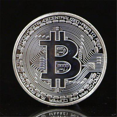 BALDR Gold Plated Coin Collectible BitCoin Art Collection Gift PhysicalCrafts<br>BALDR Gold Plated Coin Collectible BitCoin Art Collection Gift Physical<br><br>Color: Silver,Rose,Gold<br>Material: Metal<br>Package Contents: 1 x Bitcoin Coin<br>Package size (L x W x H): 6.00 x 5.00 x 2.00 cm / 2.36 x 1.97 x 0.79 inches<br>Package weight: 0.0350 kg<br>Product weight: 0.0300 kg<br>Subjects: Fashion