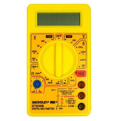 Digital LCD Meter Ohm Voltmeter Ammeter Voltage Tester Multi-Function