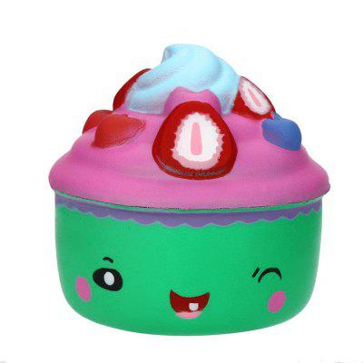 Jumbo Squishy Slow Rising Cute Cartoon Icecream Toys Stress Collectibles
