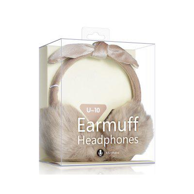 Fluffy Head-mounted Cute and common Music Headphones