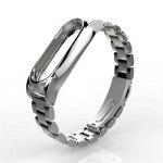 Gearbest Magnet Stainless Steel Luxury Wrist Strap Metal Wristband for Xiaomi Mi Band 2