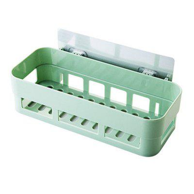 Plain Bathroom Toiletries Shelf Storage Rack
