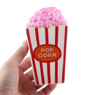 Jumbo Squishy PU Slow Rising Stress Relief Toy Replica Popcorn para adultos