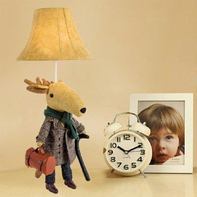 Handbag Deer Shape Table Lamp for ChildrenTable Lamps<br>Handbag Deer Shape Table Lamp for Children<br><br>Bulb Included: No<br>Features: Creative, For Children<br>Overall Height ( CM ): 76<br>Overall Length ( CM ): 31.5<br>Package Contents: 1 x Handbag Deer Shape Table Lamp, 1 x English Manual<br>Package size (L x W x H): 53.00 x 45.00 x 65.50 cm / 20.87 x 17.72 x 25.79 inches<br>Package weight: 1.8750 kg<br>Power Supply: 100-240V,AC Power<br>Product size (L x W x H): 31.50 x 31.50 x 76.00 cm / 12.4 x 12.4 x 29.92 inches<br>Product weight: 1.7500 kg<br>Style: Creative<br>Switch Type: On Off Switch<br>Type: Kids Lamp