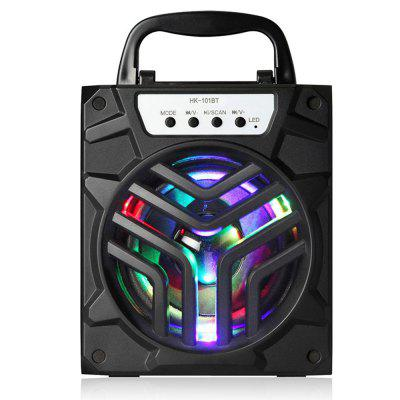 Outdoor Portable Bluetooth Speaker Super Bass Support TF/AUX/FM Radio