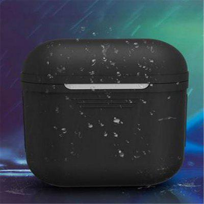 Earphone Case For Apple Bluetooth Headset Airpods WaterproofHeadphone Accessories<br>Earphone Case For Apple Bluetooth Headset Airpods Waterproof<br><br>Color: Black<br>Material: Silicone<br>Package Contents: 1 x Earphone Cover<br>Package size (L x W x H): 21.00 x 14.00 x 14.00 cm / 8.27 x 5.51 x 5.51 inches<br>Package weight: 0.0150 kg<br>Product size (L x W x H): 4.80 x 2.50 x 2.50 cm / 1.89 x 0.98 x 0.98 inches<br>Product weight: 0.0100 kg