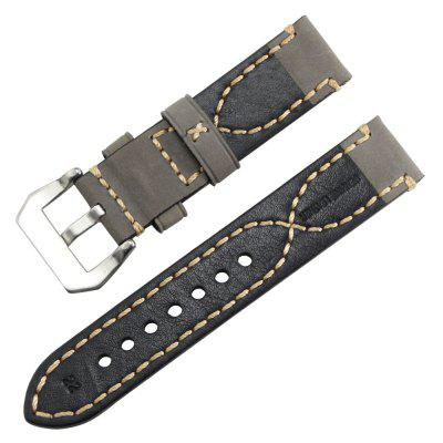 B1899 Thick Smart Watch Wristband Belt 20mm 22mm 24mm 26mmSmart Watch Accessories<br>B1899 Thick Smart Watch Wristband Belt 20mm 22mm 24mm 26mm<br><br>Color: Black,Green,Yellow,Gray,Light Brown,Deep Brown<br>Material: Genuine Leather<br>Package Contents: 1 x Watch Band<br>Package size: 15.00 x 6.00 x 0.50 cm / 5.91 x 2.36 x 0.2 inches<br>Package weight: 0.0250 kg