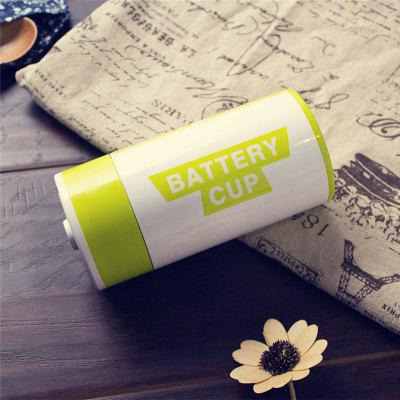 Creative Battery Shape Insulation Stainless Steel Cup