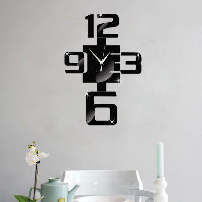 Art Bell Mirror  Decorative Wall StickersWall Stickers<br>Art Bell Mirror  Decorative Wall Stickers<br><br>Function: Decorative Wall Sticker<br>Material: Acrylic<br>Package Contents: 1 x Wall stickers<br>Package size (L x W x H): 20.00 x 15.00 x 1.00 cm / 7.87 x 5.91 x 0.39 inches<br>Package weight: 0.1500 kg<br>Quantity: 6<br>Subjects: Digital<br>Suitable Space: Living Room,Bedroom,Dining Room,Office,Study Room / Office<br>Type: Mirror Wall Sticker