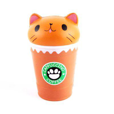 Jumbo Squishy PU Slow Rising Stress Relief Toy Replica Cartoon Cat Head Coffee Cup for AdultsSquishy toys<br>Jumbo Squishy PU Slow Rising Stress Relief Toy Replica Cartoon Cat Head Coffee Cup for Adults<br><br>Age Range: &gt; 6 years old<br>Materials: PU<br>Package Content: 1 x Toy<br>Package Dimension: 11.00 x 8.00 x 16.00 cm / 4.33 x 3.15 x 6.3 inches<br>Pattern Type: Cup<br>Product Dimension: 9.00 x 6.00 x 14.00 cm / 3.54 x 2.36 x 5.51 inches<br>Products Type: Toy<br>Theme: Character<br>Use: Photography Props, Home Decoration, Cabinet Decoration