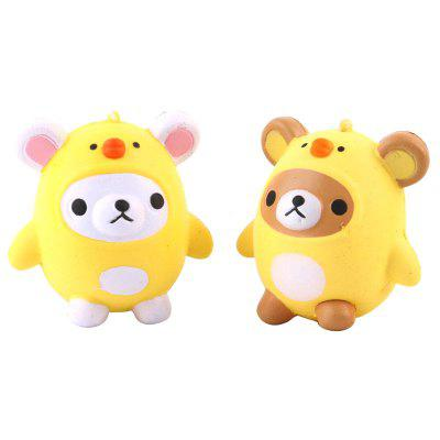Jumbo Squishy PU Slow Rising Stress Relief Pendant Toy Replica Cartoon Chick for AdultsSquishy toys<br>Jumbo Squishy PU Slow Rising Stress Relief Pendant Toy Replica Cartoon Chick for Adults<br><br>Age Range: &gt; 6 years old<br>Materials: PU<br>Package Content: 1 x Toy<br>Package Dimension: 12.00 x 8.00 x 12.00 cm / 4.72 x 3.15 x 4.72 inches<br>Pattern Type: Chicken<br>Product Dimension: 9.50 x 6.00 x 10.00 cm / 3.74 x 2.36 x 3.94 inches<br>Products Type: Toy<br>Theme: Character<br>Use: Photography Props, Home Decoration, Cabinet Decoration