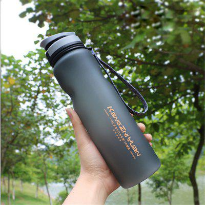 1L Travel Sport Flexible Eco-Friendly Silicone Water Bottles Foldable Drinkware