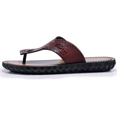 ZEACAVA Men Sandals Summer Outdoor Beach Fashion Flip Flops High Quality Casual Mens SlippersMens Slippers<br>ZEACAVA Men Sandals Summer Outdoor Beach Fashion Flip Flops High Quality Casual Mens Slippers<br><br>Available Size: 40-44<br>Embellishment: Hollow Out<br>Gender: For Men<br>Outsole Material: Rubber<br>Package Contents: 1xShoes(Pair)<br>Pattern Type: Solid<br>Season: Summer<br>Slipper Type: Outdoor<br>Style: Classics<br>Upper Material: PU<br>Weight: 0.6000kg