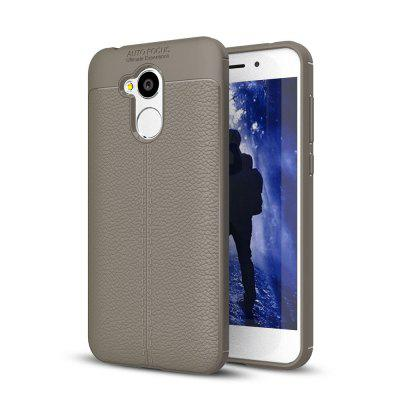 Shockproof Case for Huawei Honor 6A Litchi Grain Anti Drop TPU Soft Cover