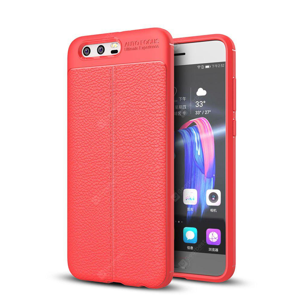 Shockproof Case for Huawei Honor 9 Litchi Grain Anti Drop TPU Soft Cover
