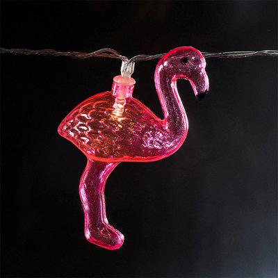 Battery-Powered Transparent Cactus Flamingo String Light for Home and Garden Decoration 10 LEDs and 1.65mLED Strips<br>Battery-Powered Transparent Cactus Flamingo String Light for Home and Garden Decoration 10 LEDs and 1.65m<br><br>Beam Angle: 300<br>Color Temperature or Wavelength: 3000-3200K<br>Features: Festival Lighting<br>LED Quantity: 10<br>Length ( m ): 1.65 m<br>Light Source: LED<br>Package Content: 1 x Transparent Cactus Flamingo String Light<br>Package size (L x W x H): 10.00 x 10.00 x 15.00 cm / 3.94 x 3.94 x 5.91 inches<br>Package weight: 0.2500 kg<br>Product size (L x W x H): 165.00 x 7.00 x 8.00 cm / 64.96 x 2.76 x 3.15 inches<br>Product weight: 0.2300 kg<br>Type: String Lights<br>Voltage: 3V<br>Wattage (W): 3