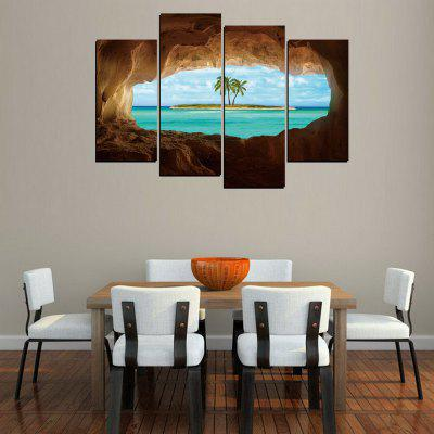 MailingArt FIV MailingArt FVI 246 5 Panels Landscape Wall Art Painting Home Decor Canvas PrintPrints<br>MailingArt FIV MailingArt FVI 246 5 Panels Landscape Wall Art Painting Home Decor Canvas Print<br><br>Craft: Print<br>Form: Four Panels<br>Material: Canvas<br>Package Contents: 4 x Print<br>Package size (L x W x H): 82.00 x 32.00 x 12.00 cm / 32.28 x 12.6 x 4.72 inches<br>Package weight: 1.8000 kg<br>Painting: Include Inner Frame<br>Shape: Horizontal Panoramic<br>Style: Natural<br>Subjects: Seascape<br>Suitable Space: Living Room,Bedroom,Dining Room,Office,Hotel,Cafes,Kids Room,Kitchen,Hallway,Kids Room,Study Room / Office