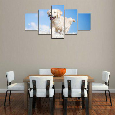 MailingArt FIV247  5 Panels Landscape Wall Art Painting Home Decor Canvas PrintPrints<br>MailingArt FIV247  5 Panels Landscape Wall Art Painting Home Decor Canvas Print<br><br>Craft: Print<br>Form: Five Panels<br>Material: Canvas<br>Package Contents: 5 x Print<br>Package size (L x W x H): 82.00 x 32.00 x 12.00 cm / 32.28 x 12.6 x 4.72 inches<br>Package weight: 1.8000 kg<br>Painting: Include Inner Frame<br>Shape: Horizontal Panoramic<br>Style: Animal<br>Subjects: Animal<br>Suitable Space: Living Room,Bedroom,Dining Room,Office,Hotel,Cafes,Kids Room,Kitchen,Hallway,Kids Room,Study Room / Office