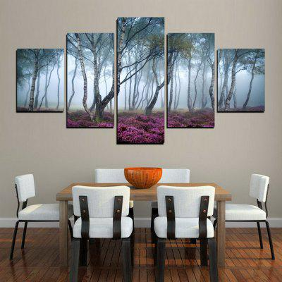 MailingArt FIV253  5 Panels Landscape Wall Art Painting Home Decor Canvas PrintPrints<br>MailingArt FIV253  5 Panels Landscape Wall Art Painting Home Decor Canvas Print<br><br>Craft: Print<br>Form: Five Panels<br>Material: Canvas<br>Package Contents: 5 x Print<br>Package size (L x W x H): 82.00 x 32.00 x 12.00 cm / 32.28 x 12.6 x 4.72 inches<br>Package weight: 1.8000 kg<br>Painting: Include Inner Frame<br>Shape: Horizontal Panoramic<br>Style: Natural<br>Subjects: Landscape<br>Suitable Space: Living Room,Bedroom,Dining Room,Office,Hotel,Cafes,Kids Room,Kitchen,Hallway,Kids Room,Study Room / Office