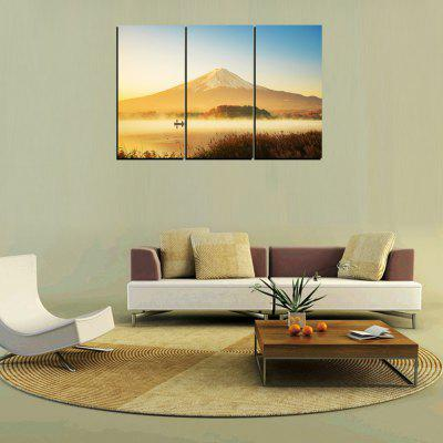 MailingArt FIV256 3 Panels Landscape Wall Art Painting Home Decor Canvas PrintPrints<br>MailingArt FIV256 3 Panels Landscape Wall Art Painting Home Decor Canvas Print<br><br>Craft: Print<br>Form: Three Panels<br>Material: Canvas<br>Package Contents: 3 x Print<br>Package size (L x W x H): 62.00 x 32.00 x 10.00 cm / 24.41 x 12.6 x 3.94 inches<br>Package weight: 1.8000 kg<br>Painting: Include Inner Frame<br>Shape: Horizontal Panoramic<br>Style: Natural<br>Subjects: Landscape<br>Suitable Space: Living Room,Bedroom,Dining Room,Office,Hotel,Cafes,Kids Room,Kitchen,Hallway,Kids Room,Study Room / Office