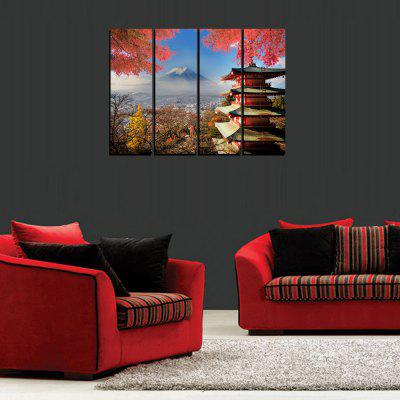 MailingArt FIV258  4 Panels Landscape Wall Art Painting Home Decor Canvas PrintPrints<br>MailingArt FIV258  4 Panels Landscape Wall Art Painting Home Decor Canvas Print<br><br>Craft: Print<br>Form: Five Panels<br>Material: Canvas<br>Package Contents: 4 x Print<br>Package size (L x W x H): 82.00 x 32.00 x 12.00 cm / 32.28 x 12.6 x 4.72 inches<br>Package weight: 1.8000 kg<br>Painting: Include Inner Frame<br>Shape: Horizontal Panoramic<br>Style: Natural<br>Subjects: Landscape<br>Suitable Space: Living Room,Bedroom,Dining Room,Office,Hotel,Cafes,Kids Room,Kitchen,Hallway,Kids Room,Study Room / Office