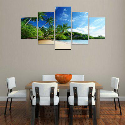 MailingArt FIV263  5 Panels Landscape Wall Art Painting Home Decor Canvas PrintPrints<br>MailingArt FIV263  5 Panels Landscape Wall Art Painting Home Decor Canvas Print<br><br>Craft: Print<br>Form: Five Panels<br>Material: Canvas<br>Package Contents: 5 x Print<br>Package size (L x W x H): 82.00 x 32.00 x 12.00 cm / 32.28 x 12.6 x 4.72 inches<br>Package weight: 1.8000 kg<br>Painting: Include Inner Frame<br>Shape: Horizontal Panoramic<br>Style: Natural<br>Subjects: Seascape<br>Suitable Space: Living Room,Bedroom,Dining Room,Office,Hotel,Cafes,Kids Room,Kitchen,Hallway,Kids Room,Study Room / Office