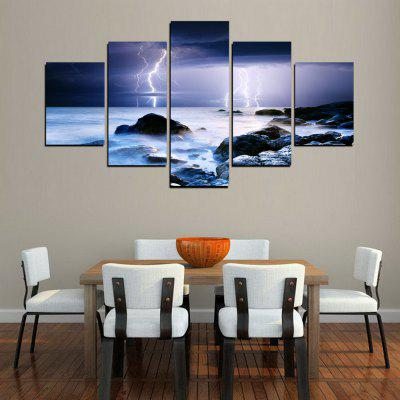 MailingArt FIV264  5 Panels Landscape Wall Art Painting Home Decor Canvas PrintPrints<br>MailingArt FIV264  5 Panels Landscape Wall Art Painting Home Decor Canvas Print<br><br>Craft: Print<br>Form: Five Panels<br>Material: Canvas<br>Package Contents: 5 x Print<br>Package size (L x W x H): 82.00 x 32.00 x 12.00 cm / 32.28 x 12.6 x 4.72 inches<br>Package weight: 1.8000 kg<br>Painting: Include Inner Frame<br>Shape: Horizontal Panoramic<br>Style: Natural<br>Subjects: Landscape<br>Suitable Space: Living Room,Bedroom,Dining Room,Office,Hotel,Cafes,Kids Room,Kitchen,Hallway,Kids Room,Study Room / Office
