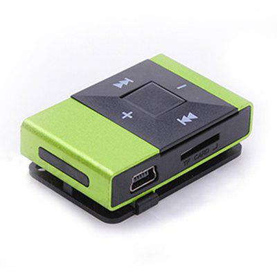 High Quality Mini MP3 Player USB Clip Digital Support 8GB SD TF Card