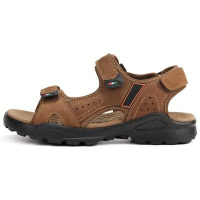 ZEACAVA Mens Fashion Leather Sand Beach SlippersMens Sandals<br>ZEACAVA Mens Fashion Leather Sand Beach Slippers<br><br>Available Size: 39-44<br>Closure Type: Slip-On<br>Embellishment: Ruched<br>Gender: For Men<br>Outsole Material: Rubber<br>Package Contents: 1 x Shoes (Pair)<br>Pattern Type: Solid<br>Season: Spring/Fall<br>Toe Shape: Round Toe<br>Toe Style: Open Toe<br>Upper Material: Full Grain Leather<br>Weight: 1.2000kg