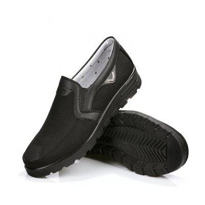 Fashion Mens Leather Casual Breathable Antiskid Loafers Moccasins ShoesFlats &amp; Loafers<br>Fashion Mens Leather Casual Breathable Antiskid Loafers Moccasins Shoes<br><br>Available Size: 38-47<br>Closure Type: Elastic band<br>Embellishment: Letter<br>Gender: For Men<br>Insole Material: Rubber<br>Lining Material: Polyester<br>Outsole Material: Rubber<br>Package Contents: 1 x Shoes (Pair)<br>Pattern Type: Geometric<br>Season: Winter, Spring/Fall, Summer<br>Toe Shape: Round Toe<br>Toe Style: Closed Toe<br>Upper Material: Cotton Fabric<br>Weight: 1.4000kg