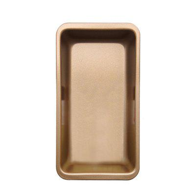 Rectangular Bread Toast PanBaking &amp; Pastry Tools<br>Rectangular Bread Toast Pan<br><br>Material: High Carbon Steel<br>Package Contents: 1 x Cake Pan<br>Package size (L x W x H): 25.00 x 13.00 x 5.00 cm / 9.84 x 5.12 x 1.97 inches<br>Package weight: 0.0540 kg<br>Product size (L x W x H): 24.00 x 12.80 x 4.80 cm / 9.45 x 5.04 x 1.89 inches<br>Product weight: 0.0440 kg<br>Type: Bakeware