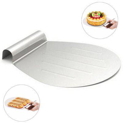 Stainless Steel Cake Baking Tools Lifter Shovel Transfer Tray Moving Plate