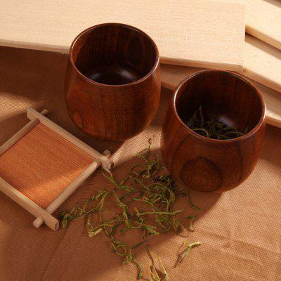Chinese Style Handmade Natural Wooden Tea Cups Drinkware Kitchen Gadgets Accessories