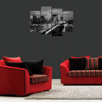 MailingArt FIV275  4 Panels Landscape Wall Art Painting Home Decor Canvas PrintPrints<br>MailingArt FIV275  4 Panels Landscape Wall Art Painting Home Decor Canvas Print<br><br>Craft: Print<br>Form: Four Panels<br>Material: Canvas<br>Package Contents: 4 x Print<br>Package size (L x W x H): 82.00 x 32.00 x 12.00 cm / 32.28 x 12.6 x 4.72 inches<br>Package weight: 1.8000 kg<br>Painting: Include Inner Frame<br>Shape: Horizontal Panoramic<br>Style: Construction, Animal<br>Subjects: Architecture<br>Suitable Space: Living Room,Bedroom,Dining Room,Office,Hotel,Cafes,Kids Room,Kitchen,Hallway,Kids Room,Study Room / Office