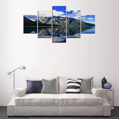 MailingArt FIV283  5 Panels Landscape Wall Art Painting Home Decor Canvas PrintPrints<br>MailingArt FIV283  5 Panels Landscape Wall Art Painting Home Decor Canvas Print<br><br>Craft: Print<br>Form: Five Panels<br>Material: Canvas<br>Package Contents: 5 x Print<br>Package size (L x W x H): 82.00 x 32.00 x 12.00 cm / 32.28 x 12.6 x 4.72 inches<br>Package weight: 1.8000 kg<br>Painting: Include Inner Frame<br>Shape: Horizontal Panoramic<br>Style: Scenic, Natural<br>Subjects: Landscape<br>Suitable Space: Living Room,Bedroom,Dining Room,Office,Hotel,Cafes,Kids Room,Kitchen,Hallway,Kids Room,Study Room / Office