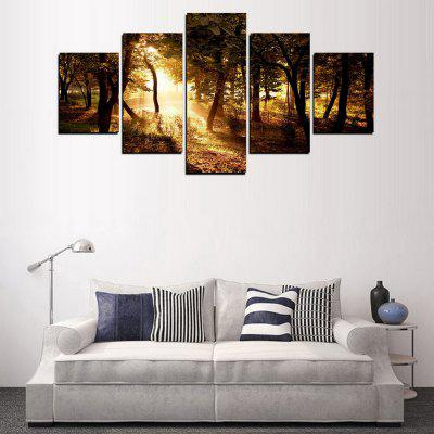 MailingArt FIV284  5 Panels Landscape Wall Art Painting Home Decor Canvas PrintPrints<br>MailingArt FIV284  5 Panels Landscape Wall Art Painting Home Decor Canvas Print<br><br>Craft: Print<br>Form: Five Panels<br>Material: Canvas<br>Package Contents: 5 x Print<br>Package size (L x W x H): 82.00 x 32.00 x 12.00 cm / 32.28 x 12.6 x 4.72 inches<br>Package weight: 1.8000 kg<br>Painting: Include Inner Frame<br>Shape: Horizontal Panoramic<br>Style: Scenic, Natural<br>Subjects: Landscape<br>Suitable Space: Living Room,Bedroom,Dining Room,Office,Hotel,Cafes,Kids Room,Kitchen,Hallway,Kids Room,Study Room / Office