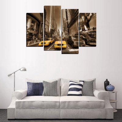 MailingArt FIV285  5 Panels Landscape Wall Art Painting Home Decor Canvas PrintPrints<br>MailingArt FIV285  5 Panels Landscape Wall Art Painting Home Decor Canvas Print<br><br>Craft: Print<br>Form: Four Panels<br>Material: Canvas<br>Package Contents: 4 x Print<br>Package size (L x W x H): 82.00 x 32.00 x 12.00 cm / 32.28 x 12.6 x 4.72 inches<br>Package weight: 1.8000 kg<br>Painting: Include Inner Frame<br>Shape: Horizontal Panoramic<br>Style: Vehicle, Landscape, Office, Animal, Popular<br>Subjects: Landscape<br>Suitable Space: Living Room,Bedroom,Dining Room,Office,Hotel,Cafes,Kids Room,Kitchen,Hallway,Kids Room,Study Room / Office
