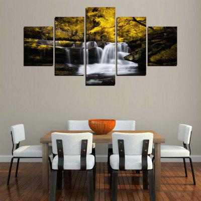 MailingArt FIV286  5 Panels Landscape Wall Art Painting Home Decor Canvas PrintPrints<br>MailingArt FIV286  5 Panels Landscape Wall Art Painting Home Decor Canvas Print<br><br>Craft: Print<br>Form: Five Panels<br>Material: Canvas<br>Package Contents: 5 x Print<br>Package size (L x W x H): 82.00 x 32.00 x 12.00 cm / 32.28 x 12.6 x 4.72 inches<br>Package weight: 1.8000 kg<br>Painting: Include Inner Frame<br>Shape: Horizontal Panoramic<br>Style: Natural<br>Subjects: Landscape<br>Suitable Space: Living Room,Bedroom,Dining Room,Office,Hotel,Cafes,Kids Room,Kitchen,Hallway,Kids Room,Study Room / Office