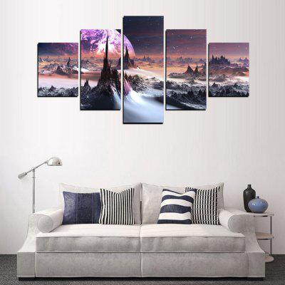 MailingArt FIV289  5 Panels Landscape Wall Art Painting Home Decor Canvas PrintPrints<br>MailingArt FIV289  5 Panels Landscape Wall Art Painting Home Decor Canvas Print<br><br>Craft: Print<br>Form: Five Panels<br>Material: Canvas<br>Package Contents: 5 x Print<br>Package size (L x W x H): 82.00 x 32.00 x 12.00 cm / 32.28 x 12.6 x 4.72 inches<br>Package weight: 1.8000 kg<br>Painting: Include Inner Frame<br>Shape: Horizontal Panoramic<br>Style: Natural<br>Subjects: Landscape<br>Suitable Space: Living Room,Bedroom,Dining Room,Office,Hotel,Cafes,Kids Room,Kitchen,Hallway,Kids Room,Study Room / Office
