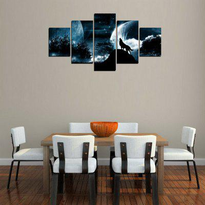 MailingArt FIV298  5 Panels Landscape Wall Art Painting Home Decor Canvas PrintPrints<br>MailingArt FIV298  5 Panels Landscape Wall Art Painting Home Decor Canvas Print<br><br>Craft: Print<br>Form: Five Panels<br>Material: Canvas<br>Package Contents: 5 x Print<br>Package size (L x W x H): 82.00 x 32.00 x 12.00 cm / 32.28 x 12.6 x 4.72 inches<br>Package weight: 1.8000 kg<br>Painting: Include Inner Frame<br>Shape: Horizontal Panoramic<br>Style: Natural, Landscape, Animal<br>Subjects: Landscape<br>Suitable Space: Living Room,Bedroom,Dining Room,Office,Hotel,Cafes,Kids Room,Kitchen,Hallway,Kids Room,Study Room / Office