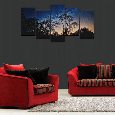 MailingArt FIV302  5 Panels Landscape Wall Art Painting Home Decor Canvas PrintPrints<br>MailingArt FIV302  5 Panels Landscape Wall Art Painting Home Decor Canvas Print<br><br>Craft: Print<br>Form: Five Panels<br>Material: Canvas<br>Package Contents: 5 x Print<br>Package size (L x W x H): 82.00 x 32.00 x 12.00 cm / 32.28 x 12.6 x 4.72 inches<br>Package weight: 1.8000 kg<br>Painting: Include Inner Frame<br>Shape: Horizontal Panoramic<br>Style: Natural<br>Subjects: Landscape<br>Suitable Space: Living Room,Bedroom,Dining Room,Office,Hotel,Cafes,Kids Room,Kitchen,Hallway,Kids Room,Study Room / Office