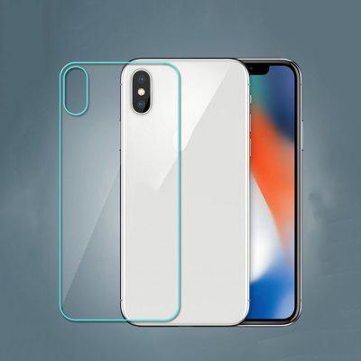 Tempered Glass Film For iPhoneX Back Protector