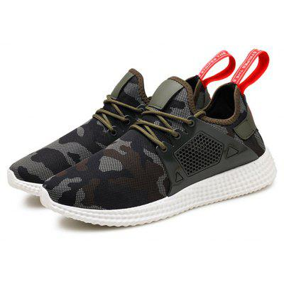 Men Camouflage Casual Sneakers Lace-up Running ShoesMen's Sneakers<br>Men Camouflage Casual Sneakers Lace-up Running Shoes<br><br>Available Size: 39-44<br>Closure Type: Lace-Up<br>Embellishment: None<br>Gender: For Men<br>Outsole Material: Rubber<br>Package Contents: 1 x Shoes (pair)<br>Pattern Type: Others<br>Season: Summer, Spring/Fall<br>Toe Shape: Round Toe<br>Toe Style: Closed Toe<br>Upper Material: Cotton Fabric<br>Weight: 1.2000kg